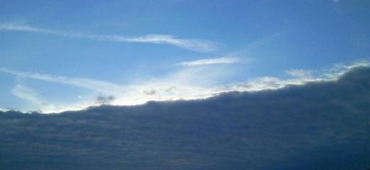 Wolken, gebrochen | by @WORTlieb¶ling.com