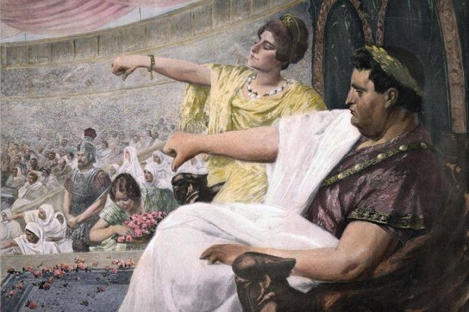 "Wilhelm Peters, ""Amphitheater"", 19. Jahrhundert"