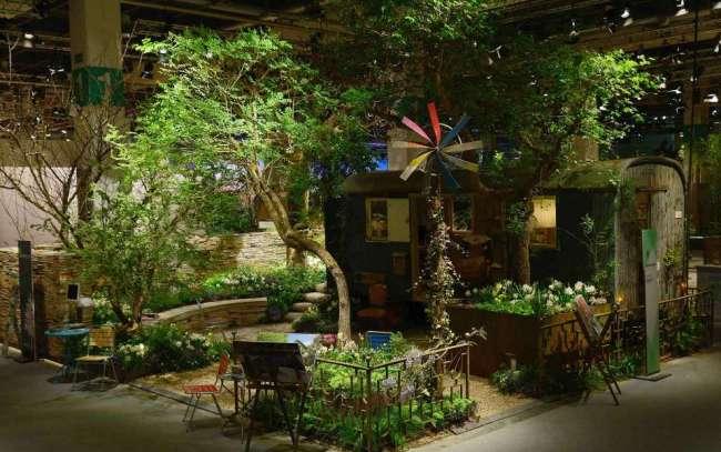 """Ausstellungsmodell """"Garten der Poesie"""""""